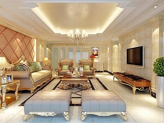 武汉旧房装修客厅装饰效果图