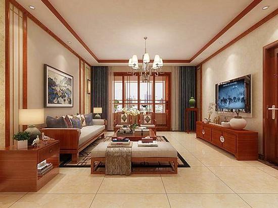 新中式客厅装修效果图片