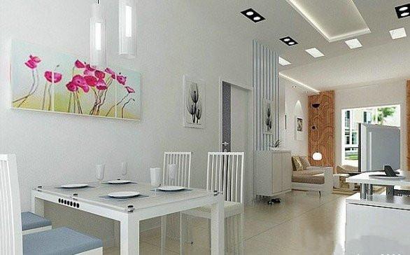 60平米装修效果图大全 两室一厅
