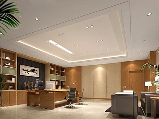 武汉大型办公室装修效果图