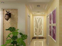 走廊装修效果图 走廊吊顶装修效果图欣赏