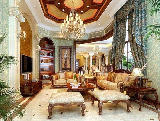 豪华别墅装修图片 600平米豪华别墅的装修