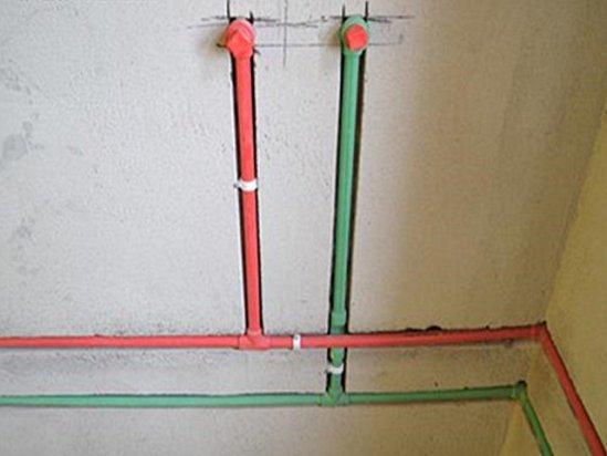 水电安装 冷热水管安装分左右有国家标准吗