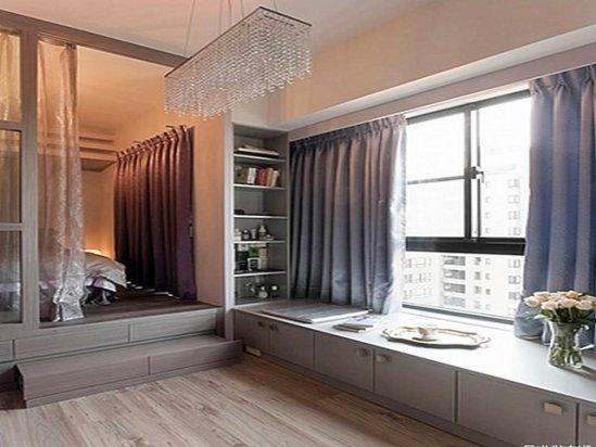 室内装修 40平米小户型装修效果图 一室一厅