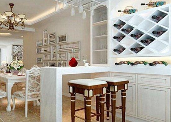 【私家别墅花园设计】餐厅吧台的尺寸是多少一般