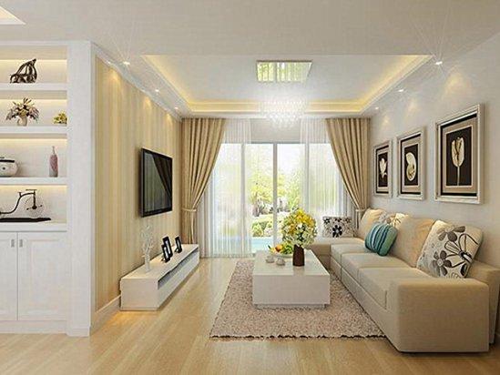 书房装修 70平米两室一厅户型图装修效果图
