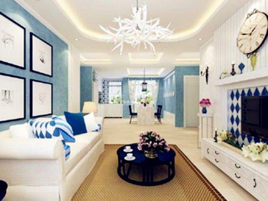 地中海建筑风格 地中海风格装修图片客厅