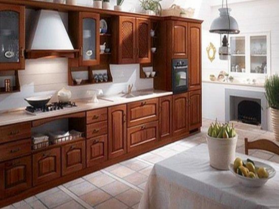 公寓式住宅效果图 家装厨房设计效果图欣赏