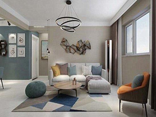 室内设计方案 北欧简约现代风格装修效果图