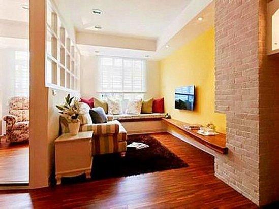 家庭客厅装修效果图 如何客厅改成书房活动室
