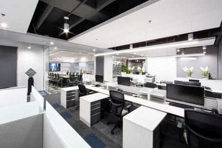 【写字楼装修效果】办公室简约设计效果图