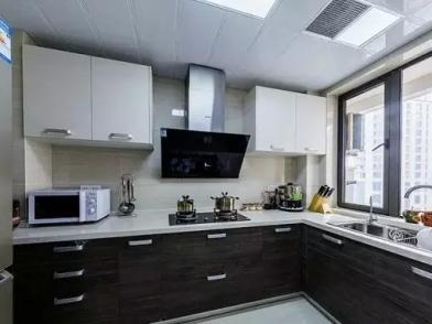 【厨房玻璃隔断】厨房装修效果图大全2021图片